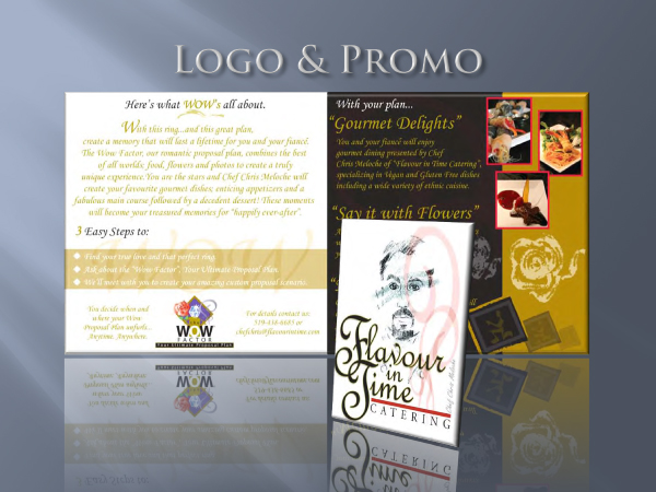 my website brochure design